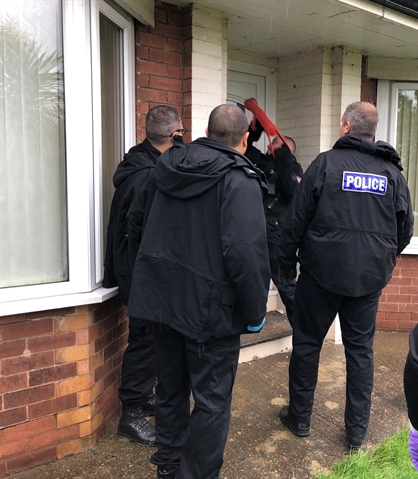 Cocaine and £10,000 seized in multiple raids in Denaby and Mexborough