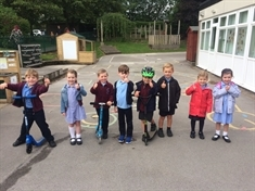 Wickersley pupils hit the ground running for active challenge comp