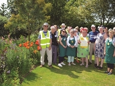 Warm welcome for visitors at Wickersley garden charity days