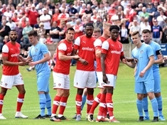 Late kick-off, a late arrival, happy faces and six new boys ... the story of Rotherham United 7 Parkgate FC 0