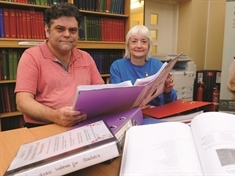 Dedicated duo compile huge archive of Rotherham's military service