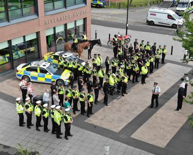 Police day of action in Rotherham yields 15 arrests