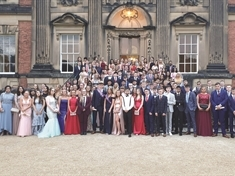 Winterhill students have a ball at Wentworth