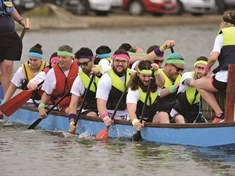 PHOTO GALLERY: Dragon boats battle it out for Bluebell Wood at Manvers - as racers compete in Bramley's dry-land 'regatta'