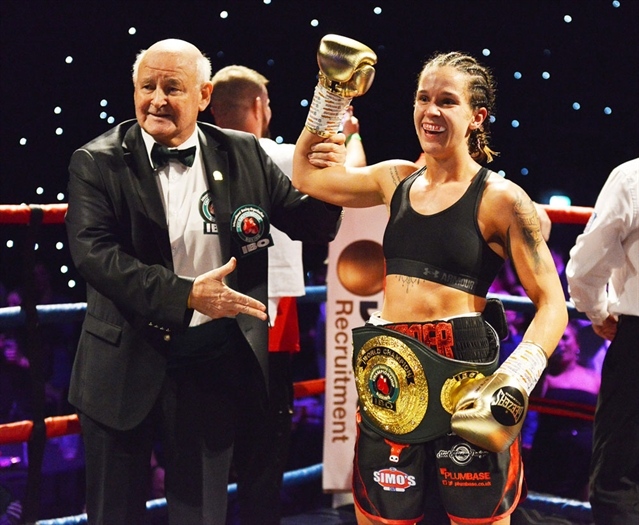 Harper's world title triumph caps knockout night of boxing at Magna