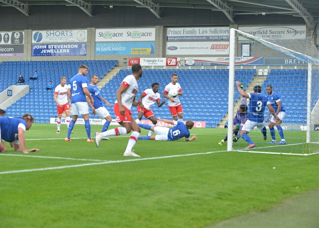 On-the-whistle report: Chesterfield 1 Rotherham United 2