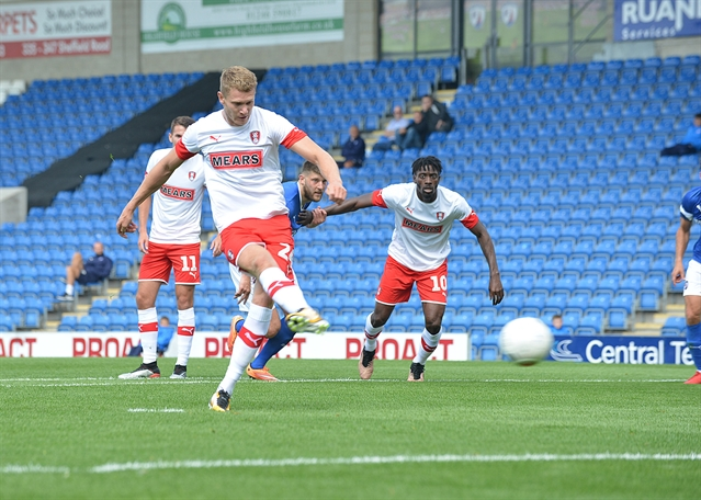Tired legs, the unused trialist and how record signing Freddie Ladapo will frustrate and thrill ... the story of Chesterfield 1 Rotherham United 2