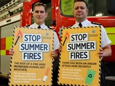 Fire service asks for public's help to stop summer fires