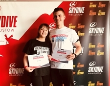 Courageous Caitlin raises hundreds of pounds with charity skydive