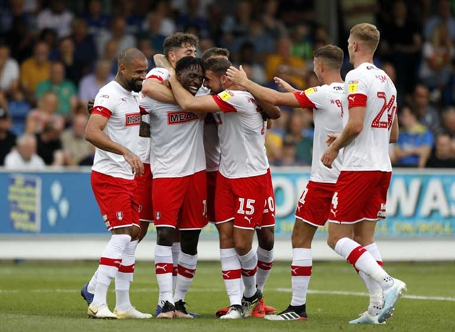 Hope, magic, red-hot Robertson and 800 fans in the shed ... the opening-day story of AFC Wimbledon 1 Rotherham United 2