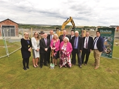 Breaking ground for new era as work starts at Waverley school site