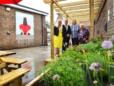 Haven for the homeless unveiled as Shiloh opens new garden