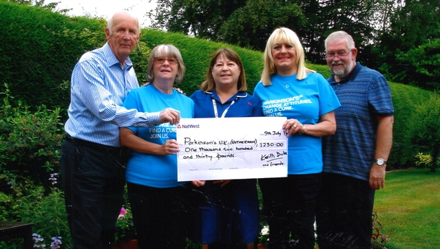 Garden party pulls in the pounds for Parkinson's sufferers