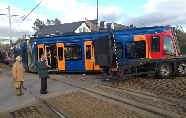 £250 fine and three points for lorry driver who caused £1 million Tram Train smash