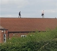 Danger warning after youths spotted on Maltby school roof days before break-in