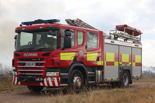 Arsonists torch hay bales in Conisbrough