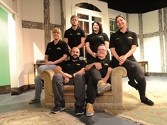 Break a leg! Theatre group prepares to stage chiller at Wombwell Playhouse this week