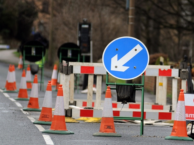 Major road repairs in Harthill area