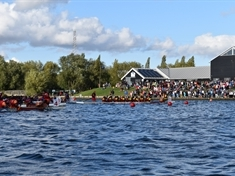 Thousands flock to 'snake boat' racing event at Manvers