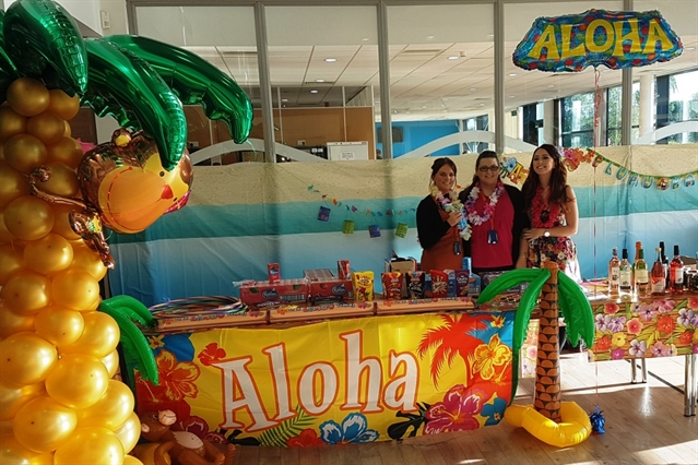 Hawaiian celebrations at firm's Dearne office