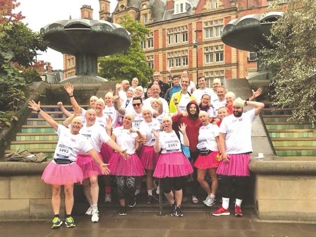 Tutu team's Sheffield 10k tribute to ex-Oakwood student Lulu, 16