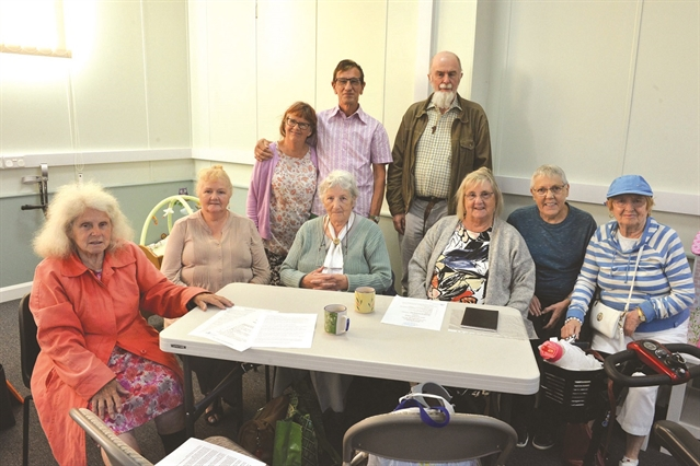 Older people's group's call for chairs in Rotherham town centre shops