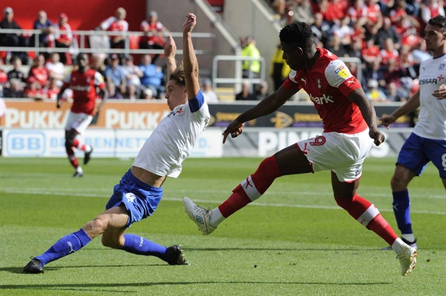 Rotherham United pencil in return date for Chiedozie Ogbene, Kyle Vassell and Adam Thompson