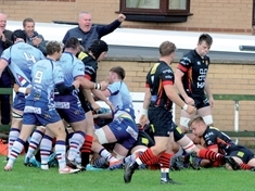 Mixed emotions as Rotherham Titans grind out victory over Cambridge