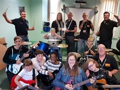 Activate Rawmarsh music group on song after windfall from Rotherham Round Table