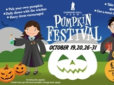 WIN: Family tickets to the Pumpkin Festival at Cannon Hall Farm