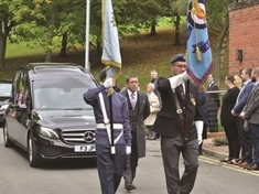 Stirring send-off for RAF hero 'Snogger' Watkins