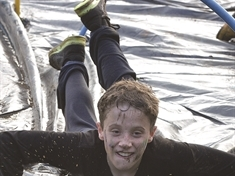 PHOTO GALLERY: Anston Greenlands kids take on school grounds Tough Mudder challenge