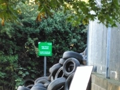 Rawmarsh fly-tipper fined for dumping hundreds of tyres