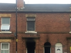 Firefighters spend two hours tackling blaze at empty house in Rotherham