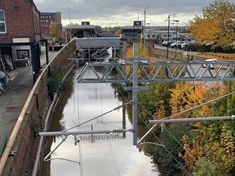 FLOODING: Railways at Rotherham and Mexborough under water