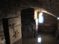 PICTURES: Inside the flooded historic Chapel on the Bridge crypt