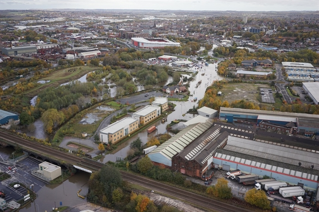 BIRD'S EYE VIEW: Take a 360-degree tour of flooded Rotherham from the skies