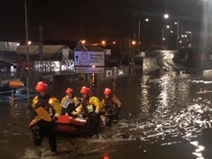 FLOODING: Baby among those rescued from water by Rotherham firefighters