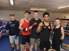 Young Rotherham amateur boxers packing a punch at Ingle gym