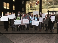 Women Reclaim the Night with town centre walk