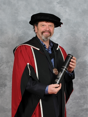 Honorary doctorate for charity founder behind bridge-building African visits