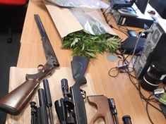 Stolen shotgun found at cannabis grow in Kimberworth Park