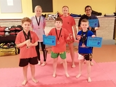 More medals for Maltby Thai Boxing kids