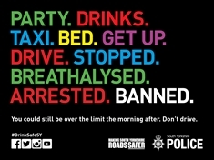 Police launch festive drink-drive campaign after 200 arrests last year