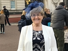 MBE Christine Lunn's 'amazing day' at Buckingham Palace