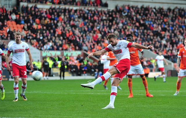 Has an injection ended Rotherham United defender Clark Robertson's groin worries?