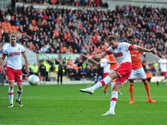 Playing through the pain ... Rotherham United's Clark Robertson typifies how professional footballers put their bodies on the line