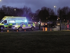 Centenary Way closed after collision between pedestrian and vehicle