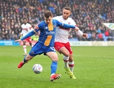 On-the-whistle report: Shrewsbury Town 1 Rotherham United 2