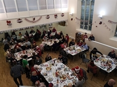 Volunteers join forces to put on huge Christmas party for South Anston community